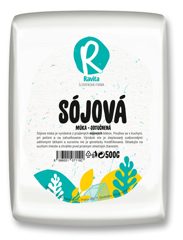 Muka-sojova-Ravita-produkt