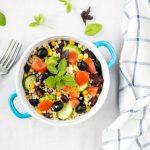 Letny salat z bulgurom