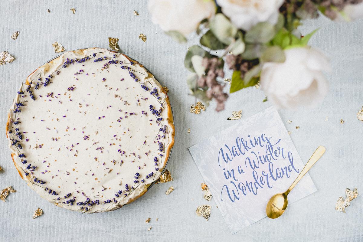 Levandulovy cheesecake bezlepkovy Ravita