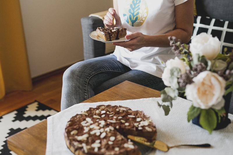 Kakaovy cheesecake Ravita