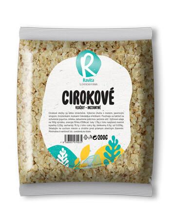 CIROKOVE-VLOCKY Ravita -produkt-Ravita