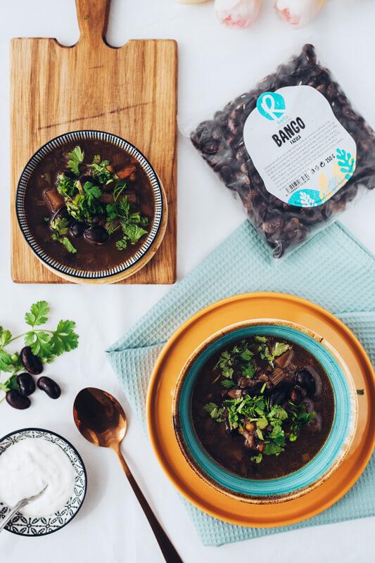 Fazulova polievka s pohánkou Ravita 2